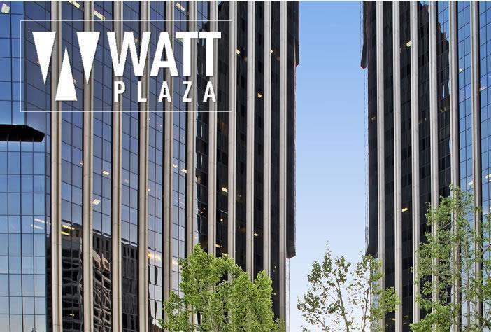 Logo of Watt Plaza