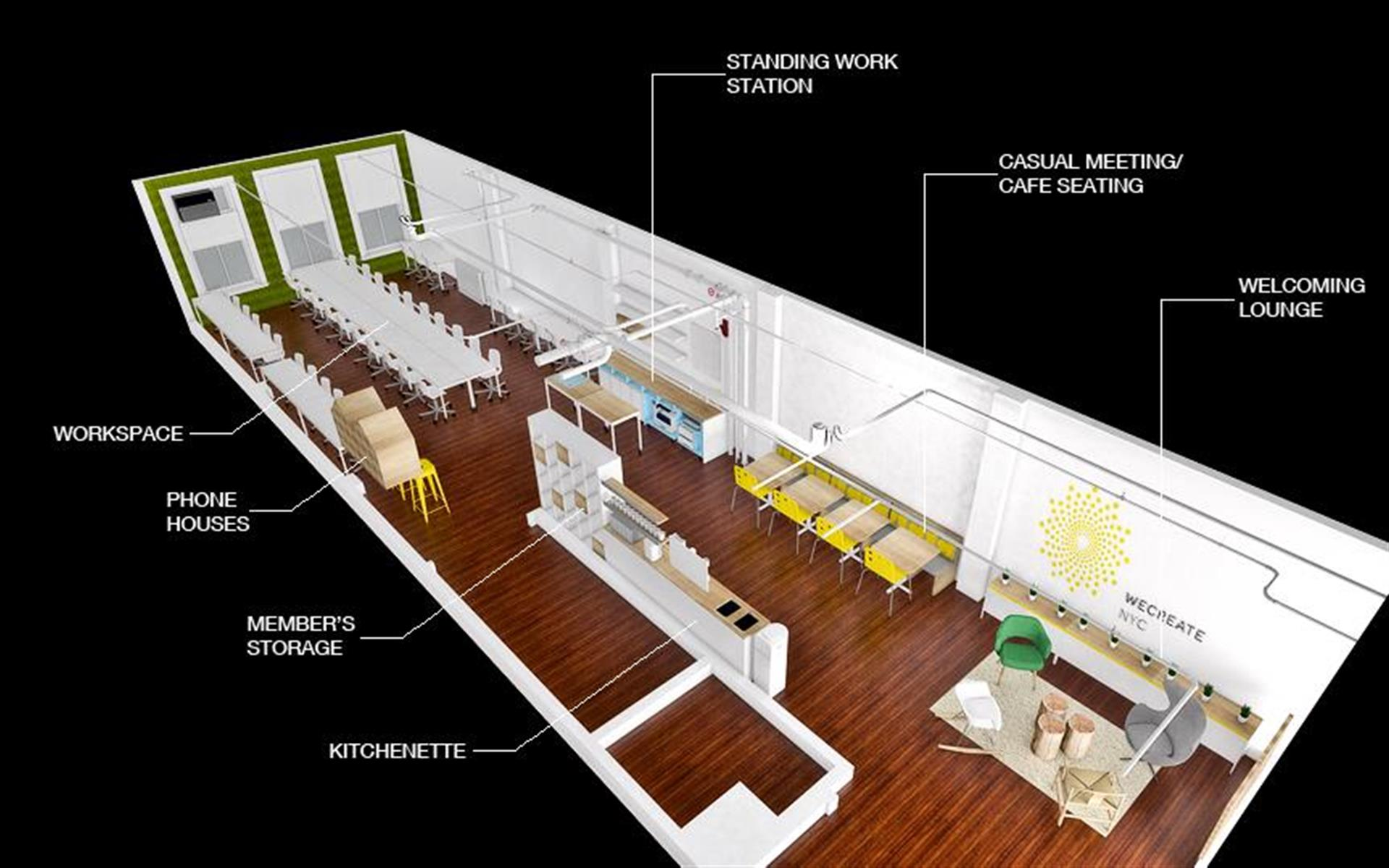 Input Lofts - Input Lofts Dedicated Desk