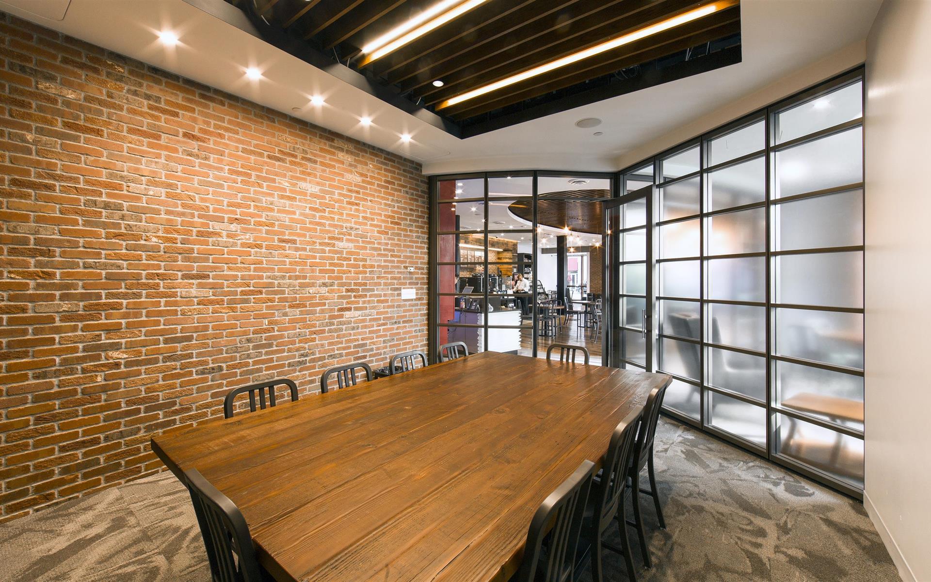 Capital One Café - Back Bay - The Capital One Community Room