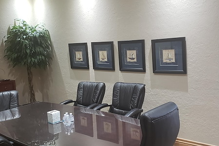The Morris Law Office - Main conference room