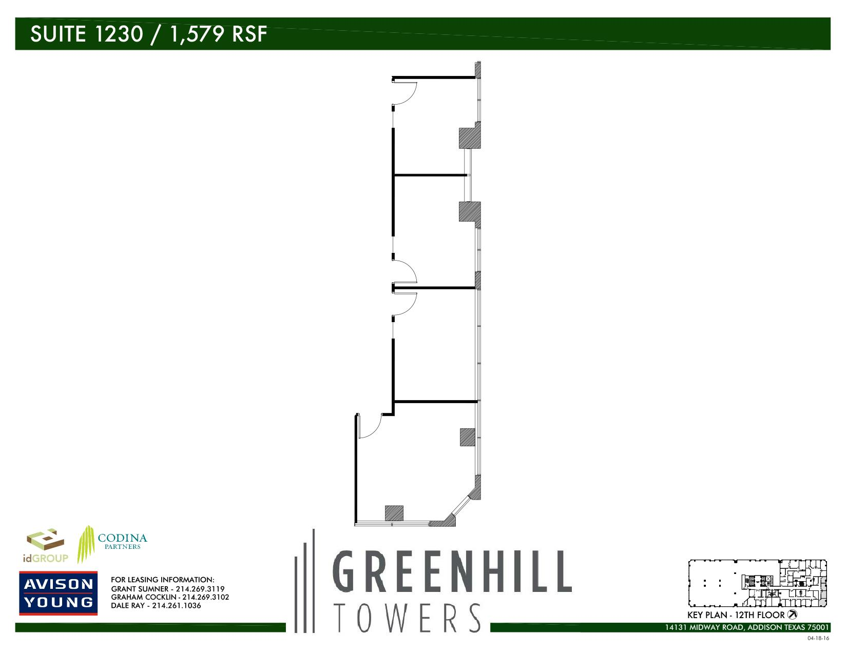 Codina Partners | Greenhill Towers - Suite 1230
