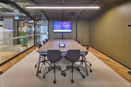 Space&Co. 580 George Street, level 10 - 10 Person Boardroom | 10.03