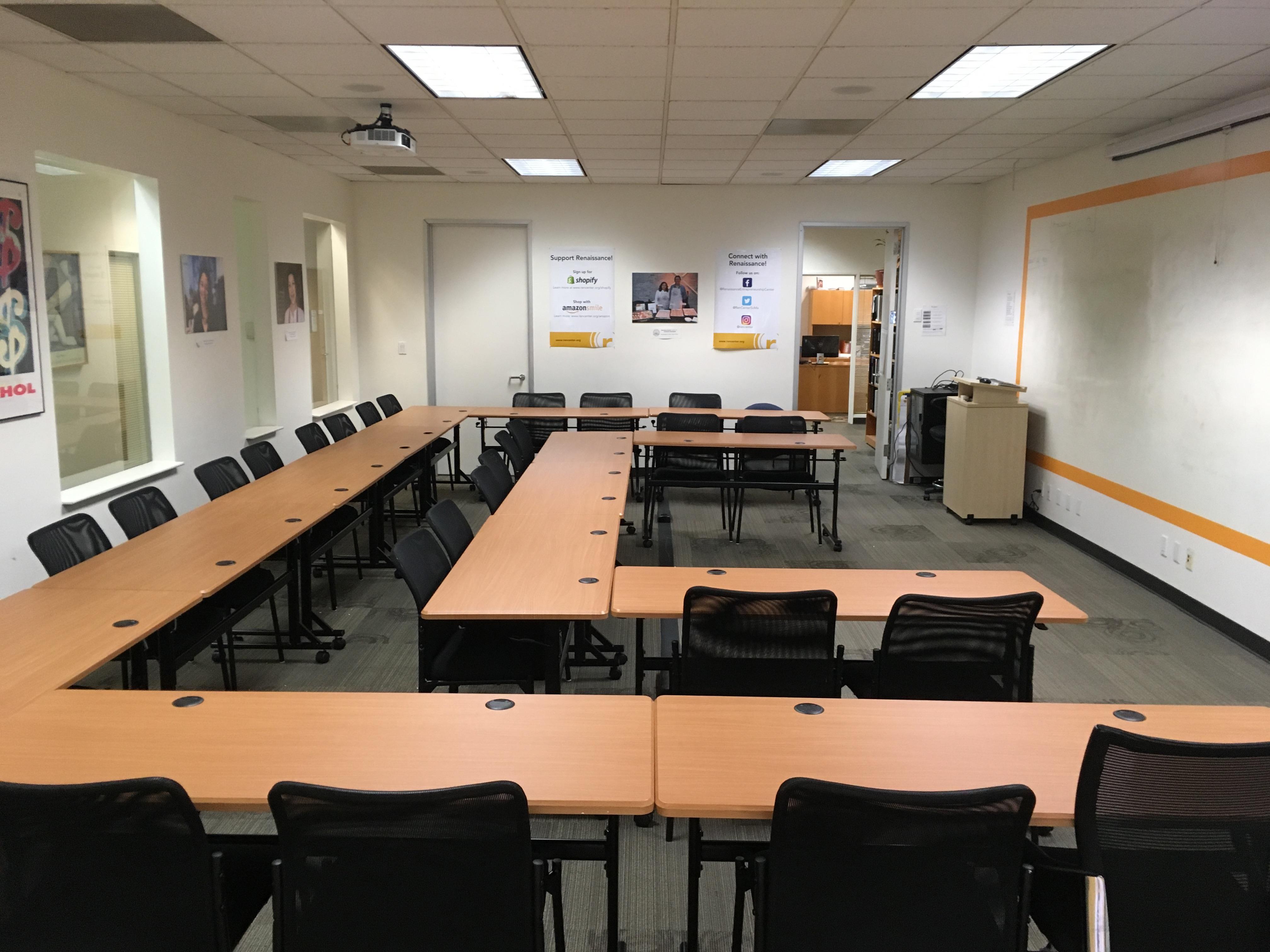 Renaissance Entrepreneurship Center - Newly Furnished Large Classroom