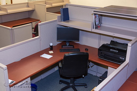 Panorama City Chamber of Commerce Business Center - Private Cubical