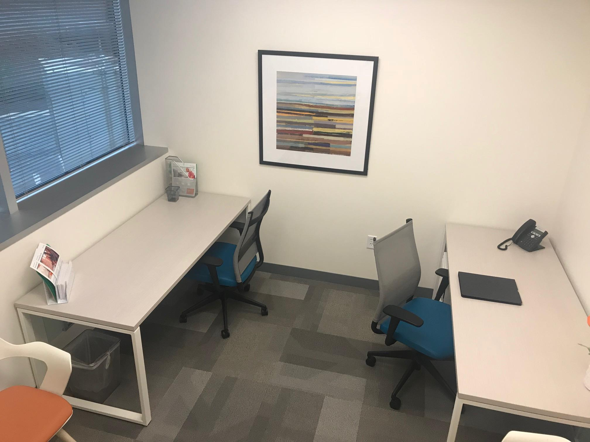 Office Evolution - Tysons Corner - 102 - 3 Person Office with Window View