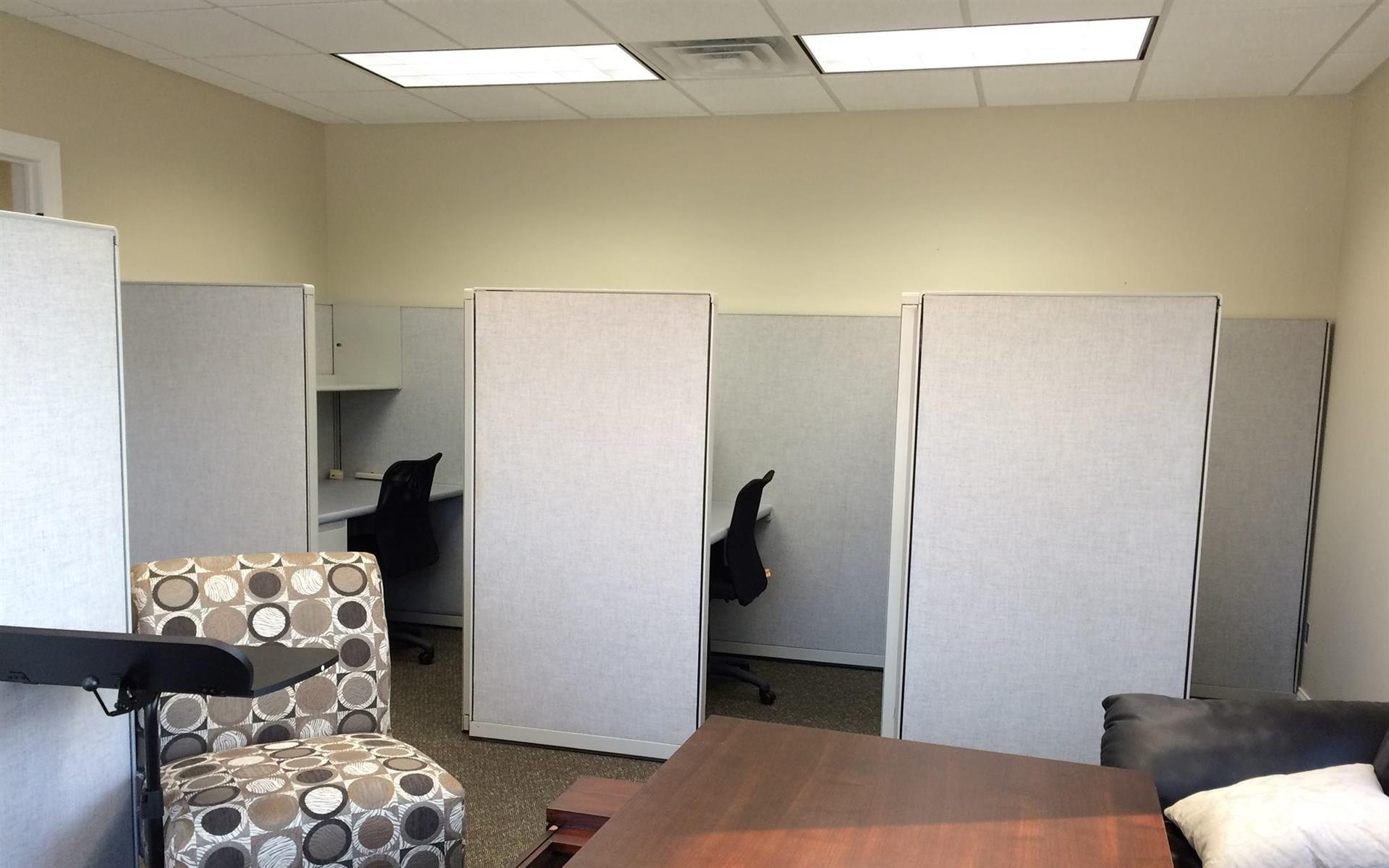 Share It Office Space - Large private cubicle