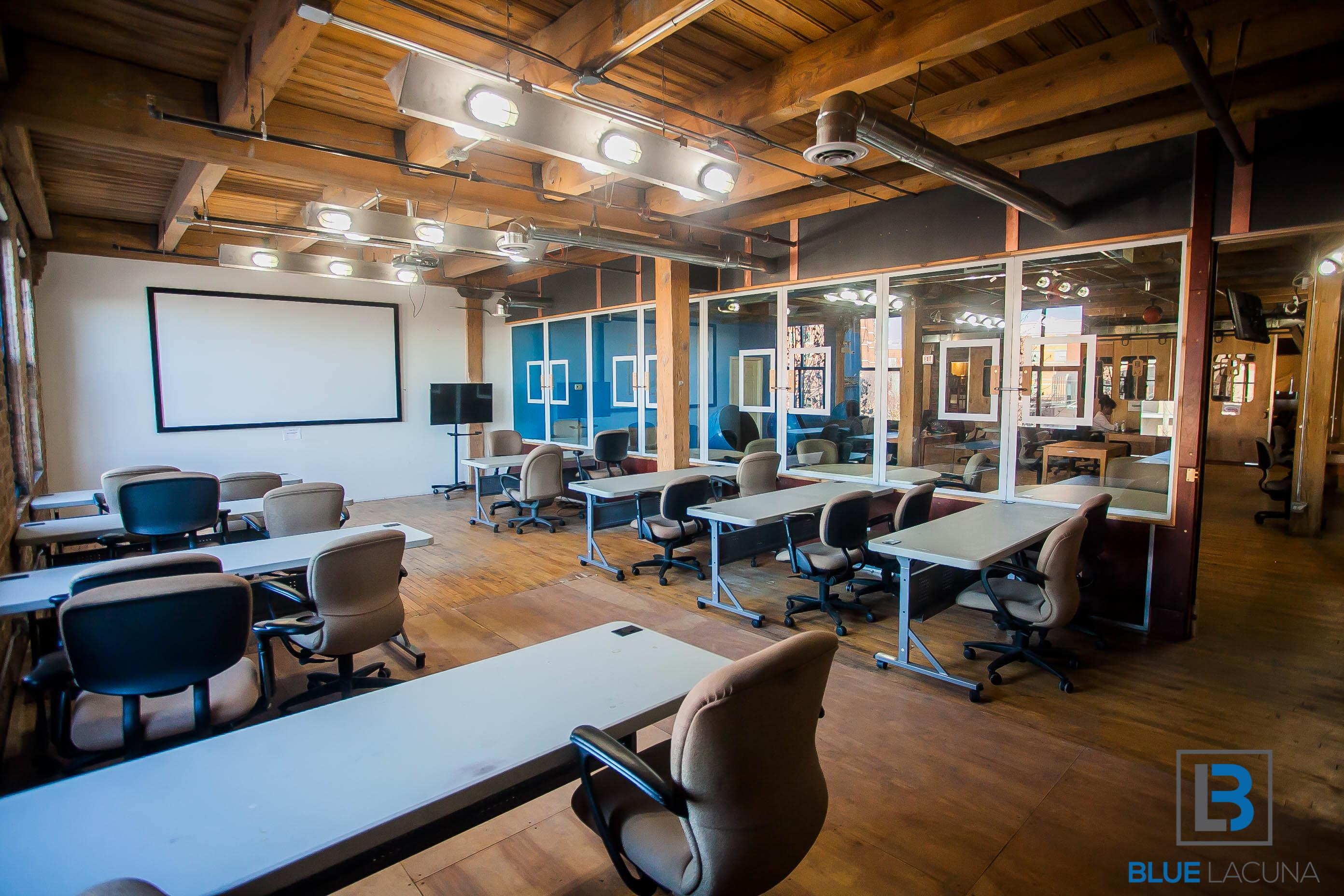 Blue Lacuna - Banneker Classroom