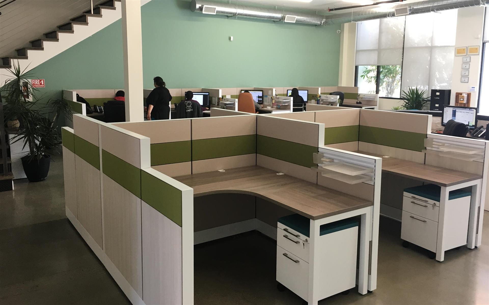 Alfi Trade Inc. - Well-lit open work space (desk 12)