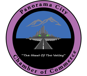 Logo of Panorama City Chamber of Commerce Business Center