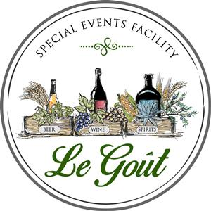 Logo of Le Goût, Special Events & Tasting Room