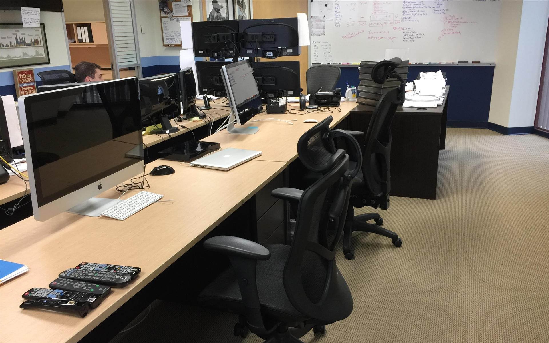 Vaquero Global Investment - Open Desk 3