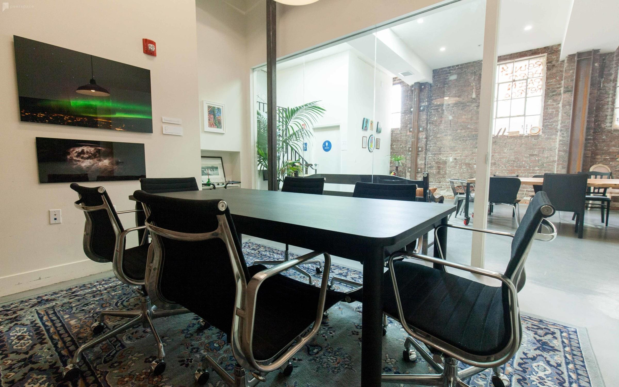 The Laundry - Private Industrial Style Conference Room