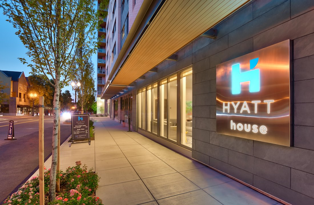 Private Meeting Room for 14 at Hyatt House Portland / Downtown
