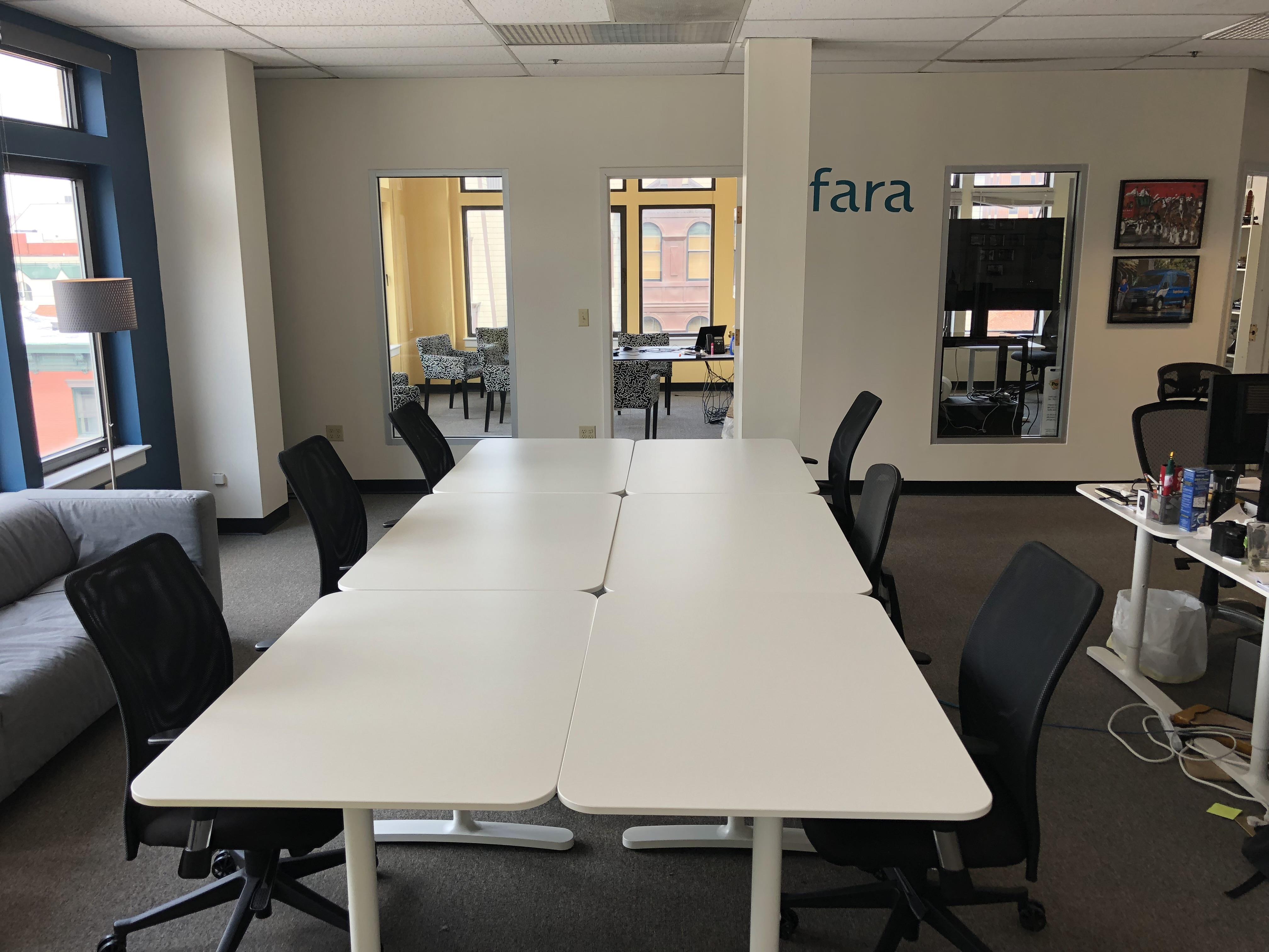 Sfara, Inc - Dedicated Desk 1