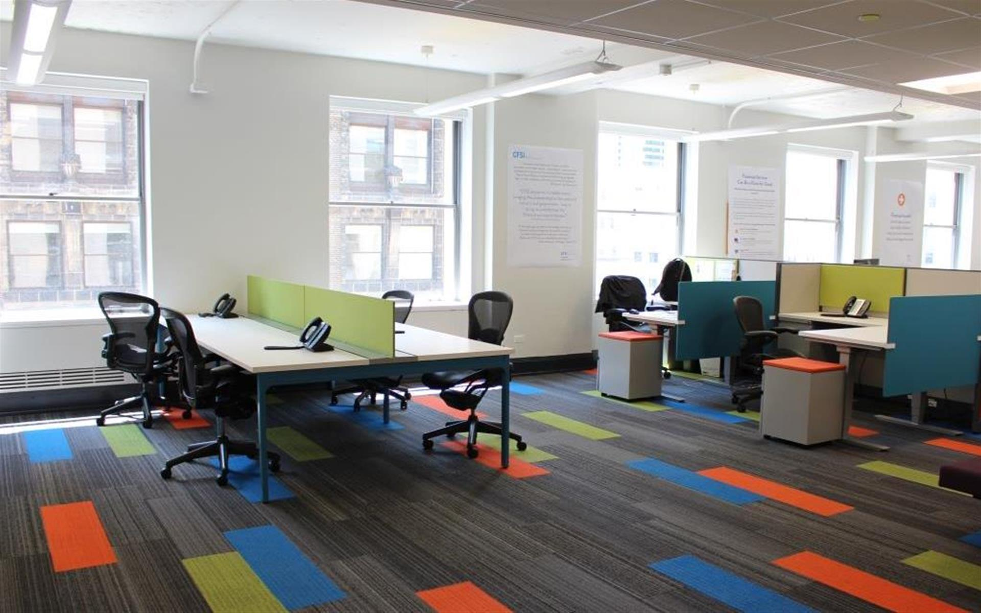 Center for Financial Services Innovation - Benching Station in Central Loop