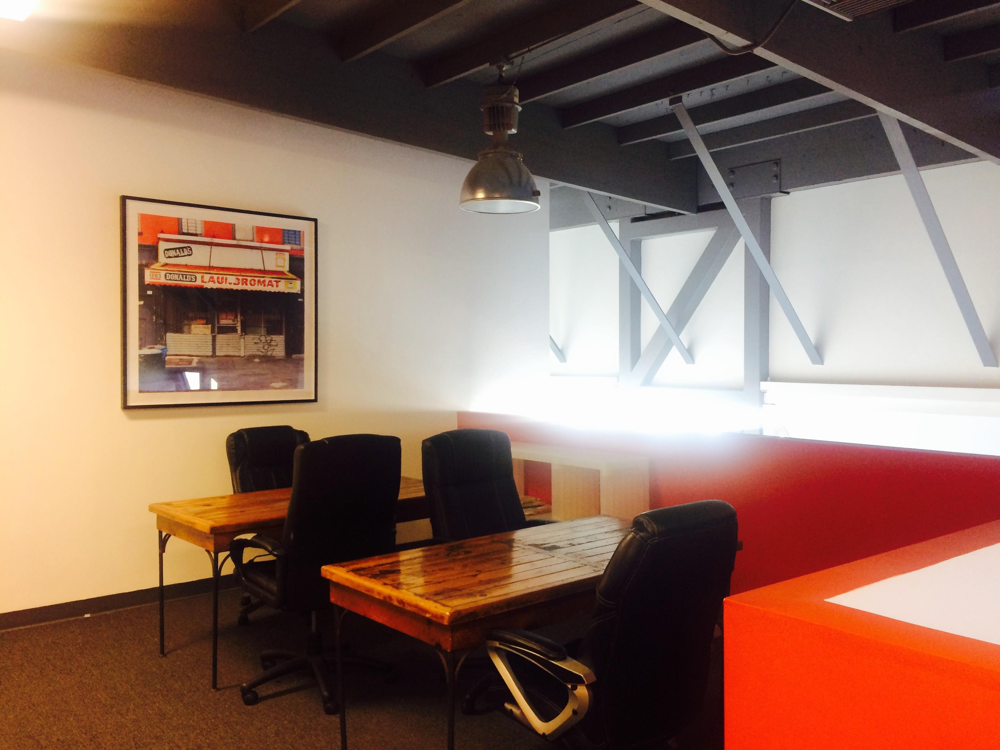 Fox Offices - Open floor area with dedicated desks