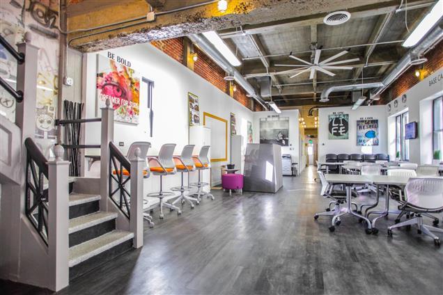 Benjamin's Desk - 1701 Walnut - 1701 Walnut (8th FL) Whiteboard Lounge