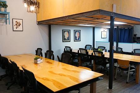 Createscape - Creative Office Open Workspace West