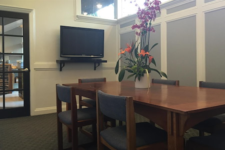 The Trade Coffee & Coworking - Conference Room with Apple TV