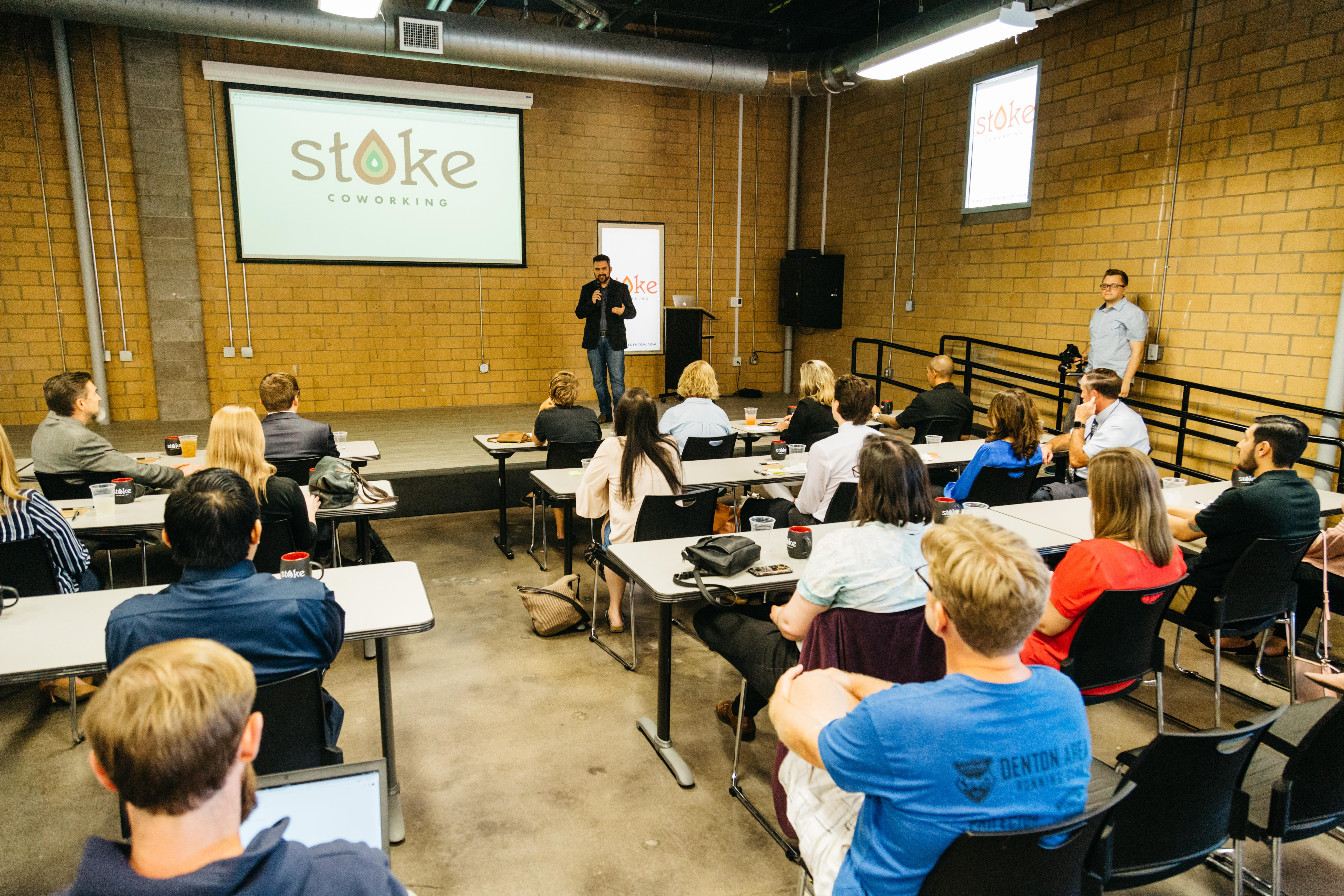 Stoke Coworking and Entrepreneur Center - Event Space