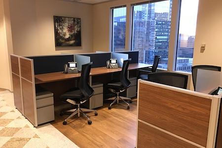 Servcorp - Boston One International Place - Dedicated Desk