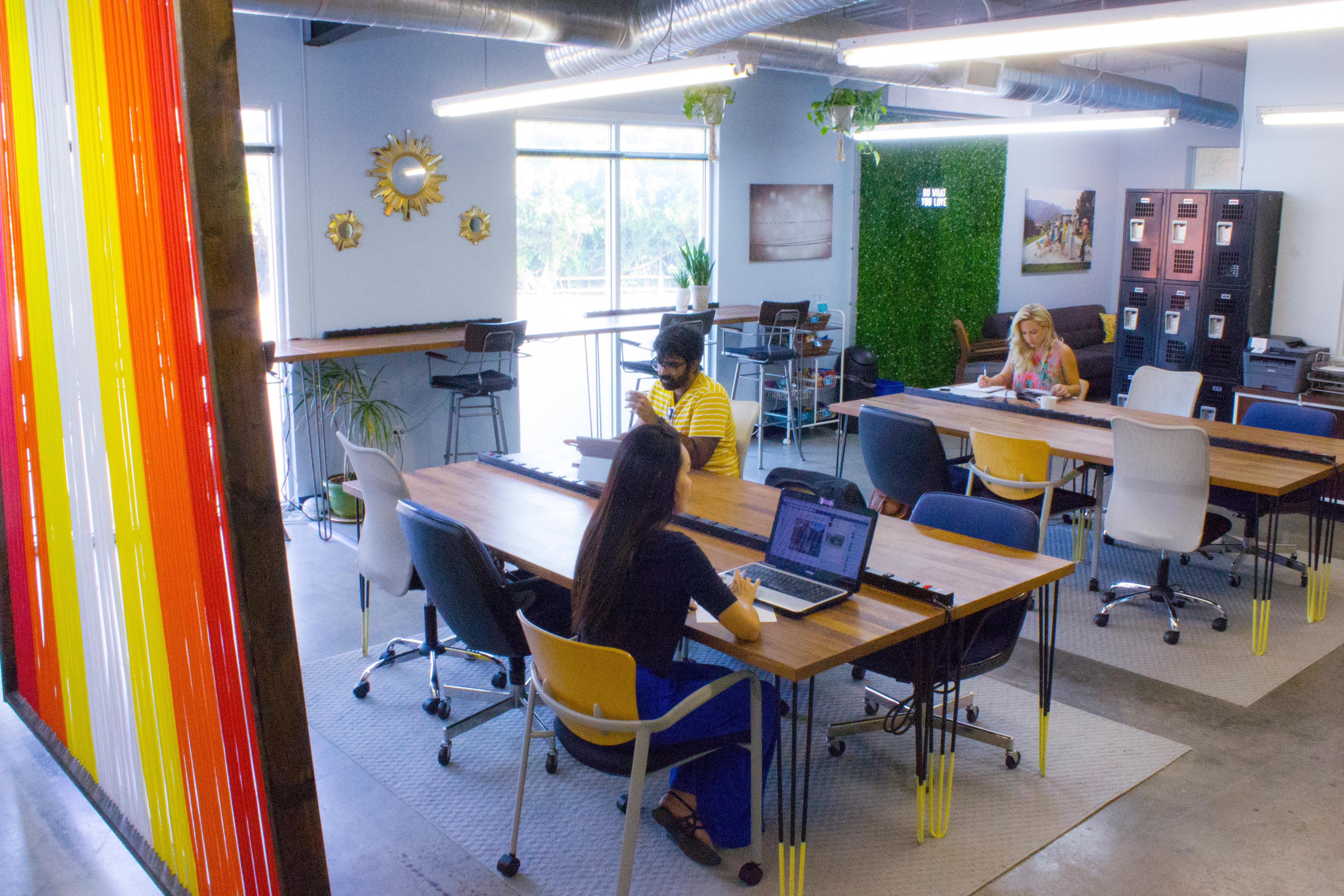 Createscape - Creative Office Open Workspace East