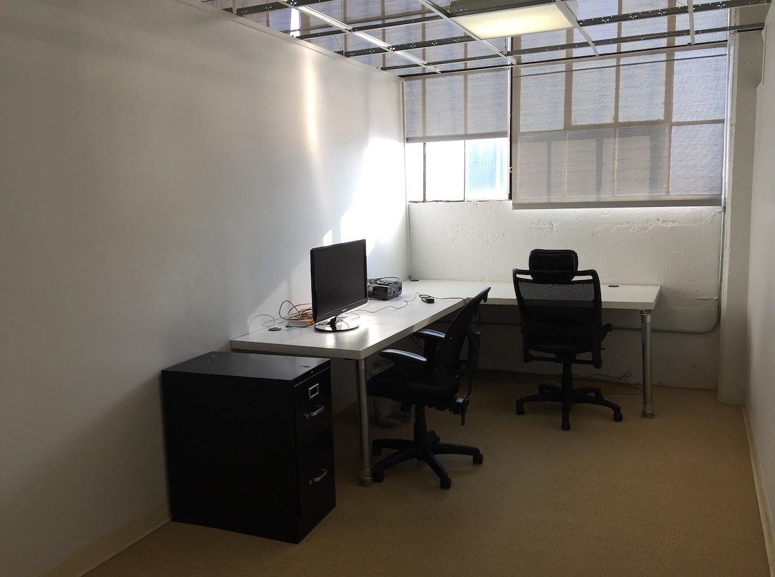 Private Office For 2 At Cool Designer Industrial Team Space