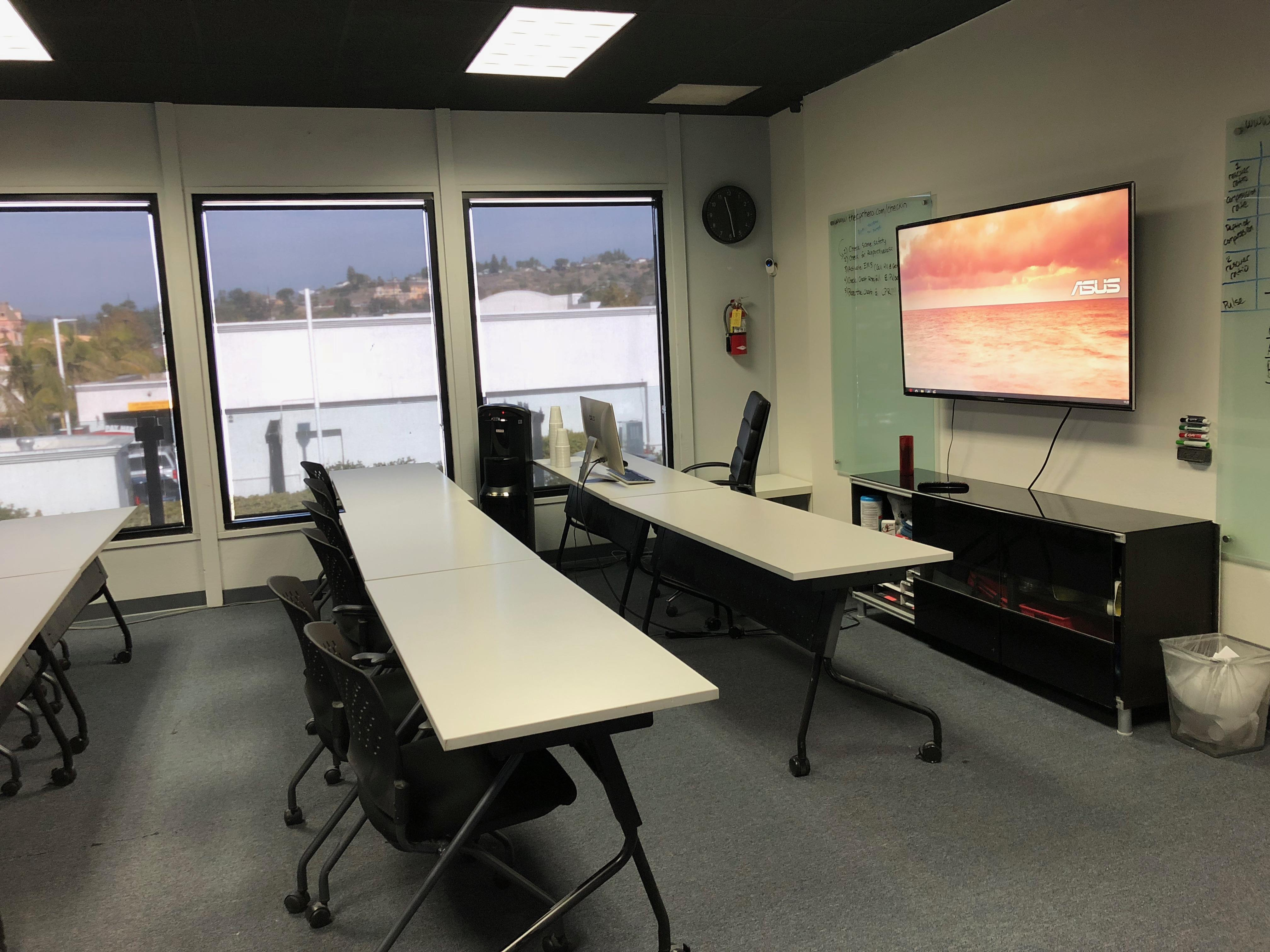 Anaheim - Classroom Conference Room Open Space