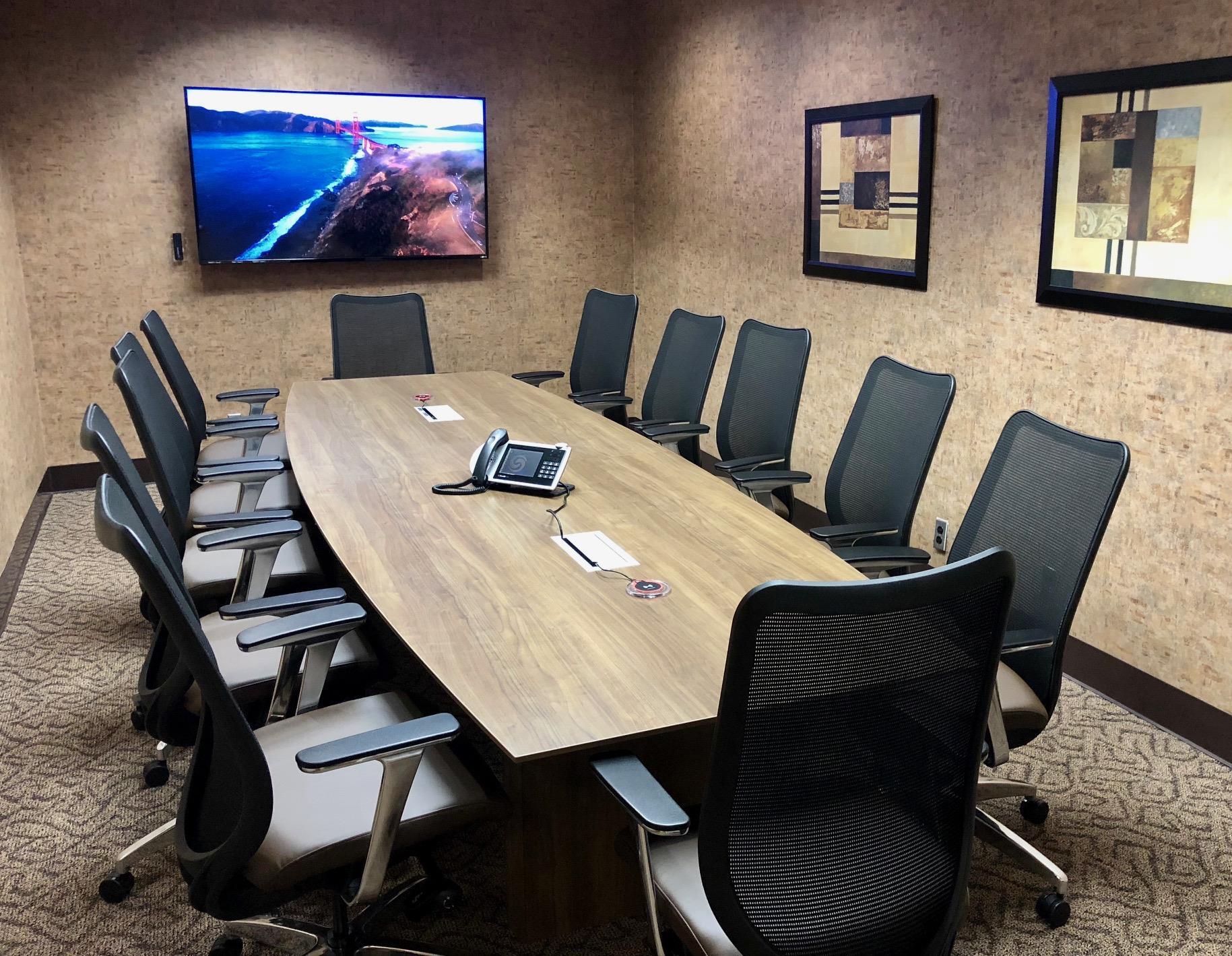 Pacific Workplaces - Cupertino - Empire Boardroom