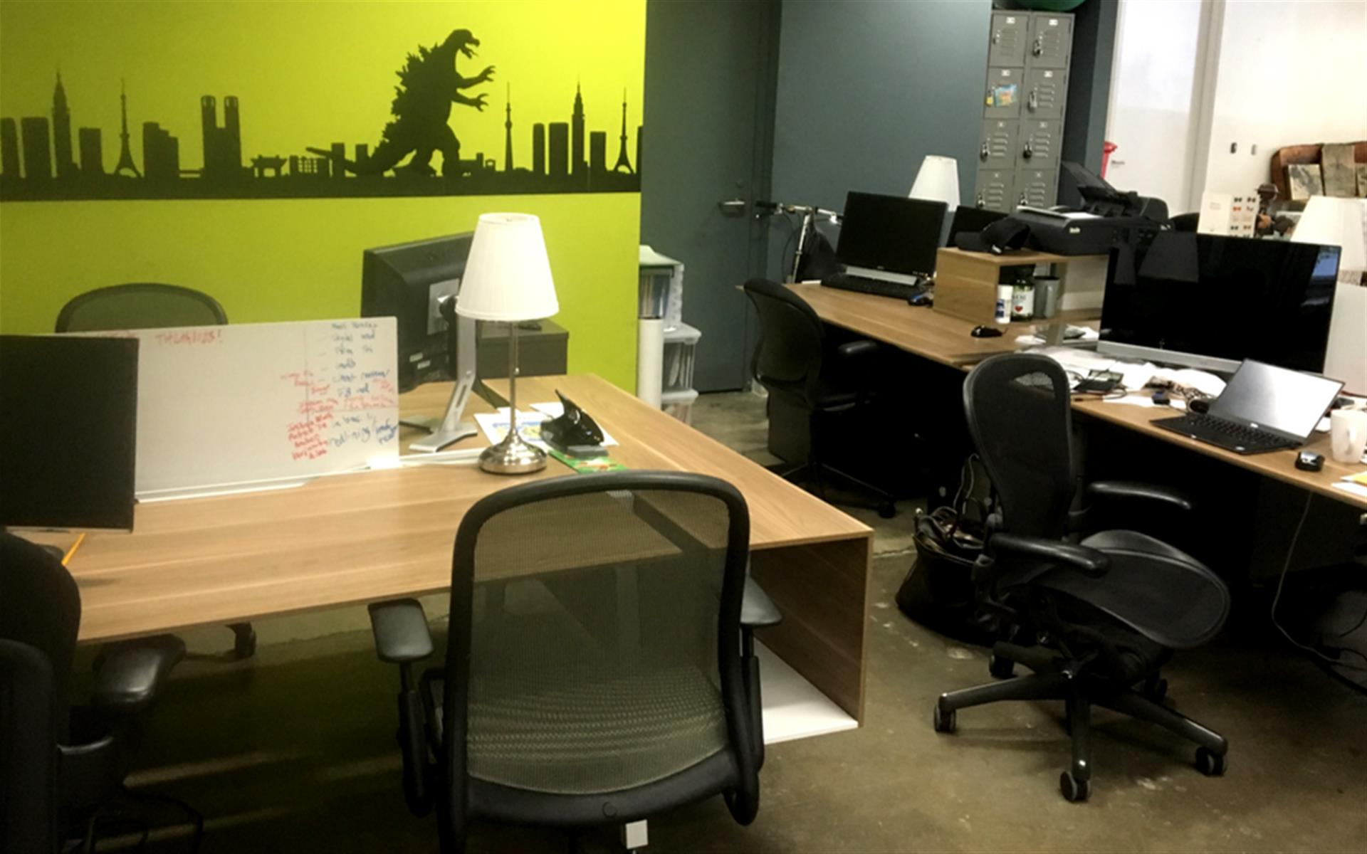 Opodz Coworking - Little Tokyo Dedicated Desks Available