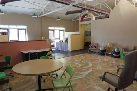 the Produce Company - Main coworking space