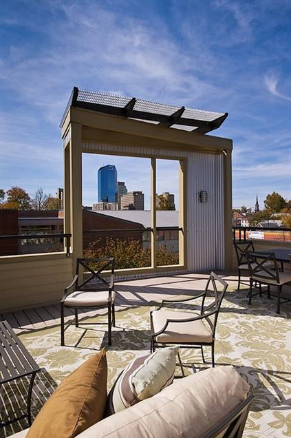 Hardwood Properties - Rooftop Garden