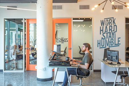Novel Coworking Gaslamp - Dedicated Desk in Office 318A