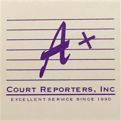 Host at A+ Court Reporters