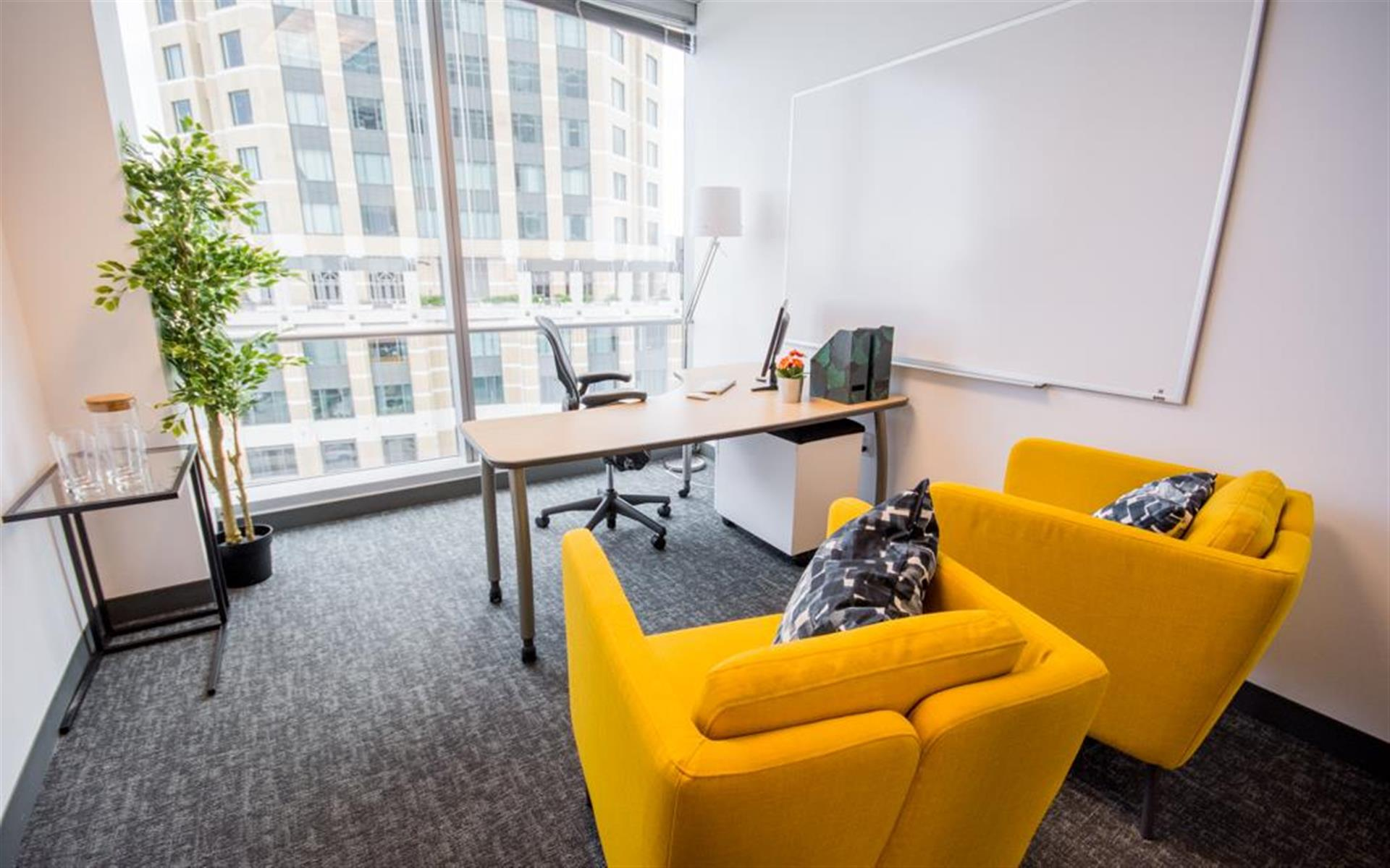 The Port Workspaces @ City Center - Private Office with a View