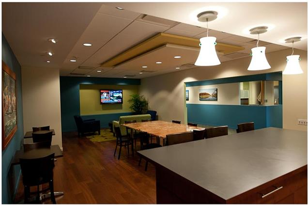 Carr Workplaces Rosslyn - Potomac Towers - Touchdown Space - Cafe