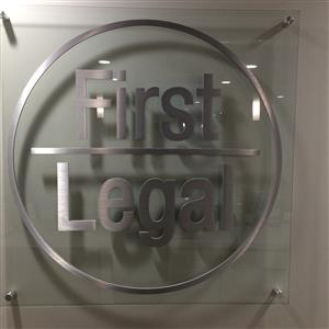 Logo of PacMutual Bldg. - First Legal Deposition