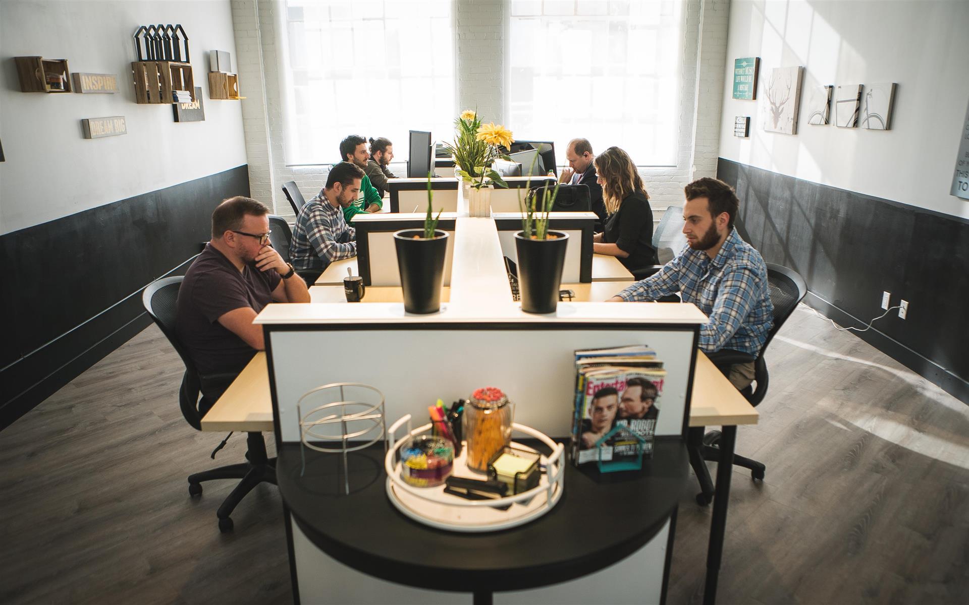 District 28 WorkSpace - Dedicated Desk (WorkSpace 2)