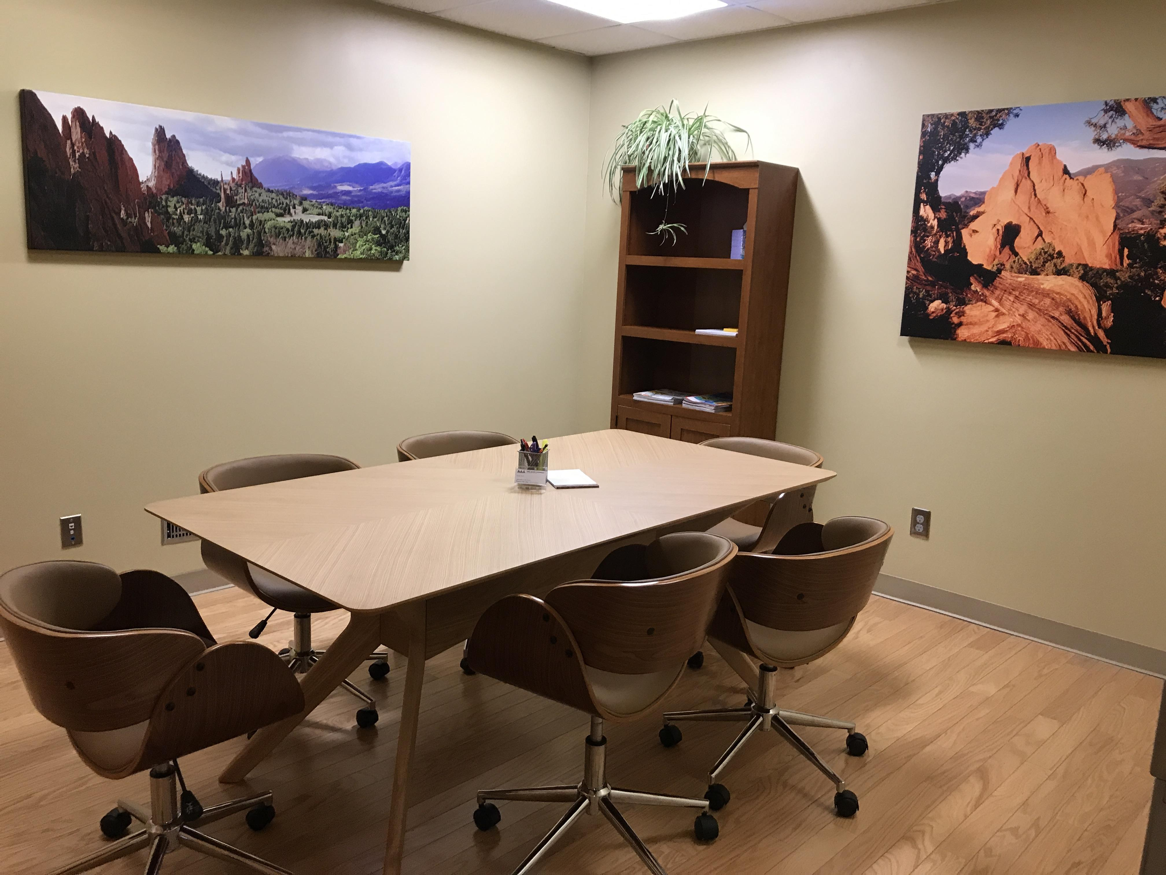 Knies Helland & McPherson Law - Garden of the Gods Room
