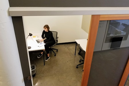 CENTRL   Pearl District - 2 Person Open-Ceiling Office
