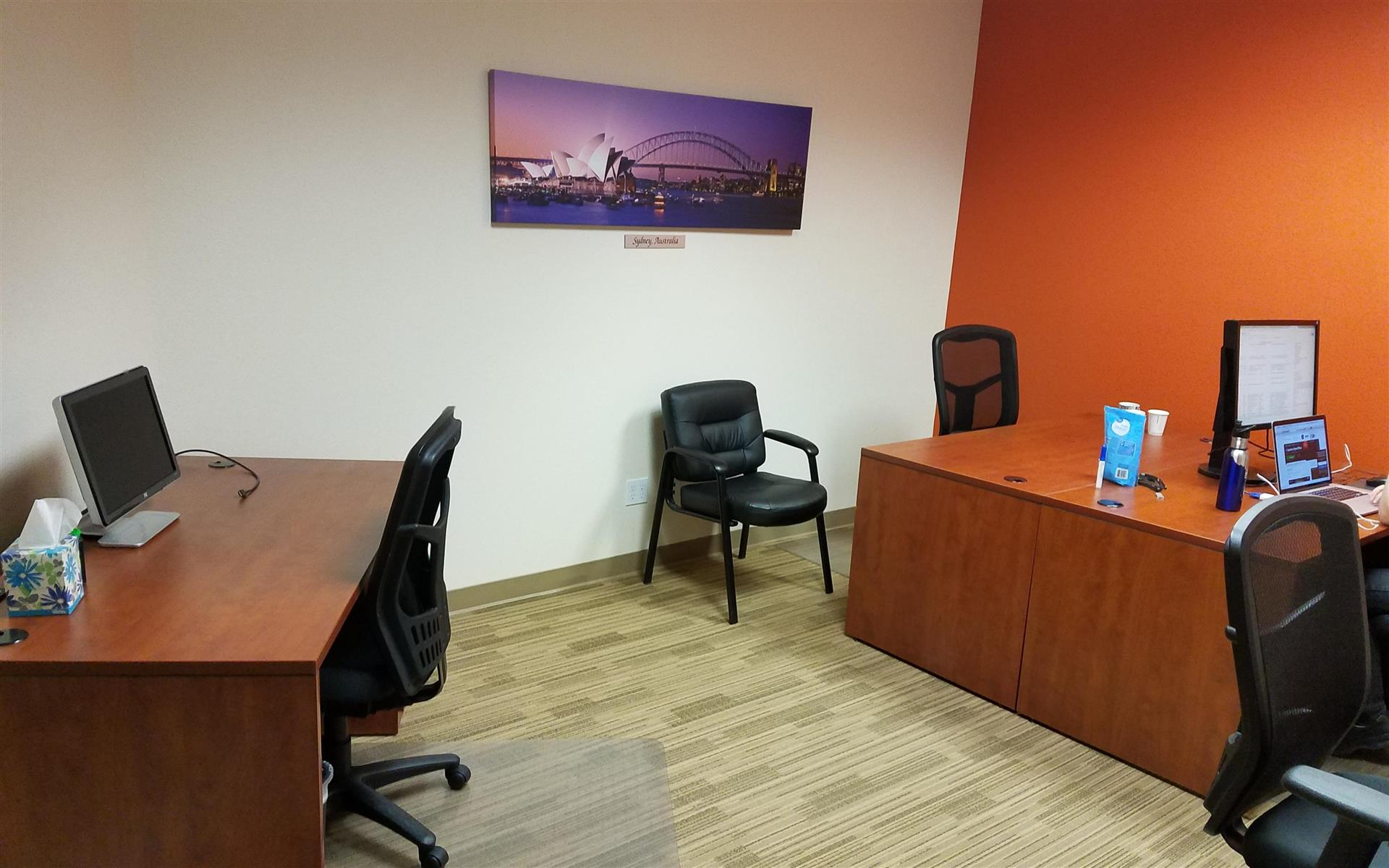 Pleasanton Business Solutions - Dedicated Private Desk