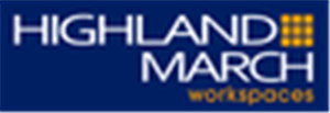 Logo of Highland-March Workspaces at Marina Bay