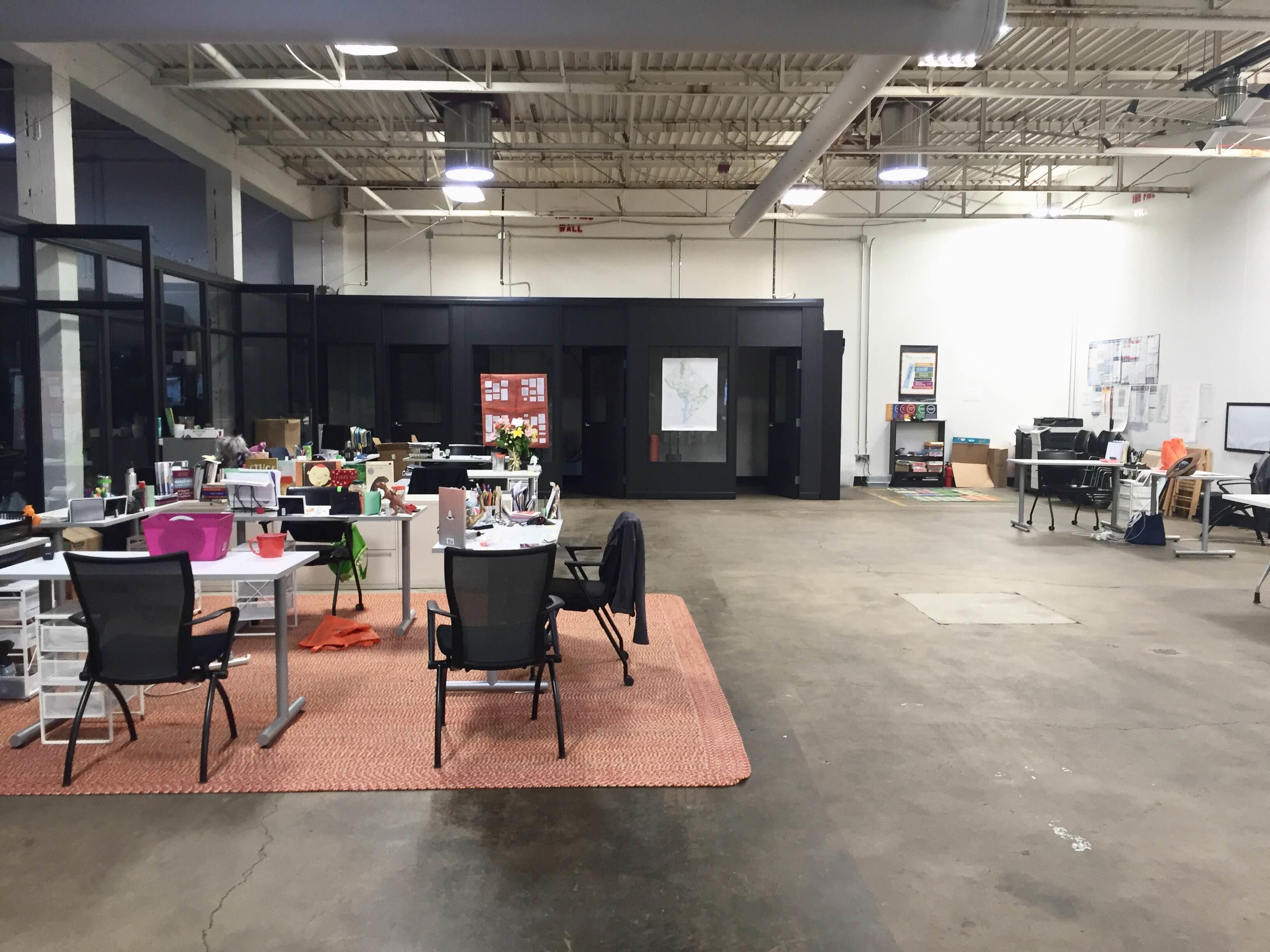 Reading Partners - Nonprofit desk spaces