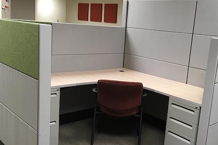 Office Alternatives Westside - Private Cubicle Desk - Riverside