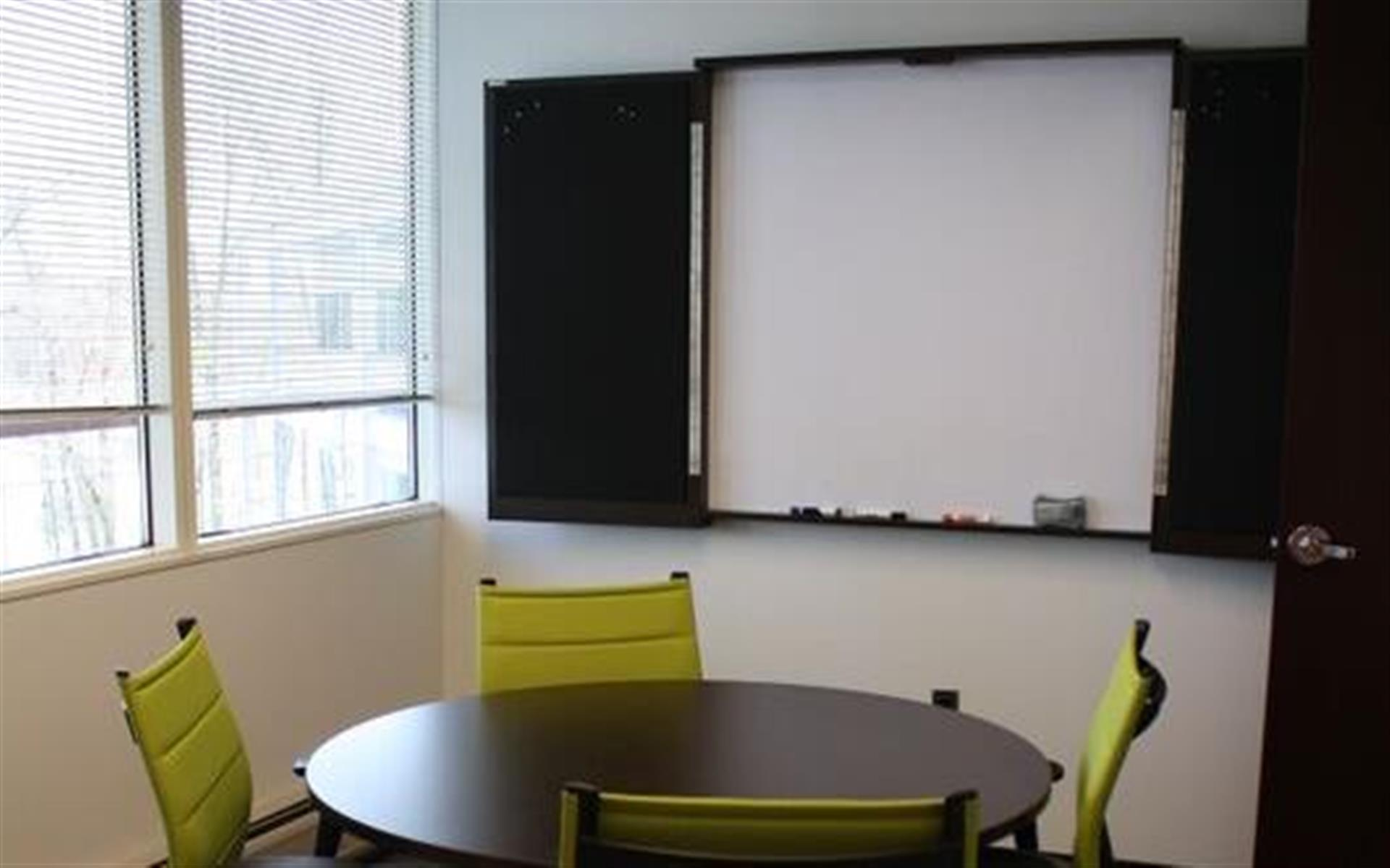 CoWork Connection Plus - Huddle Room with Sanctuary view