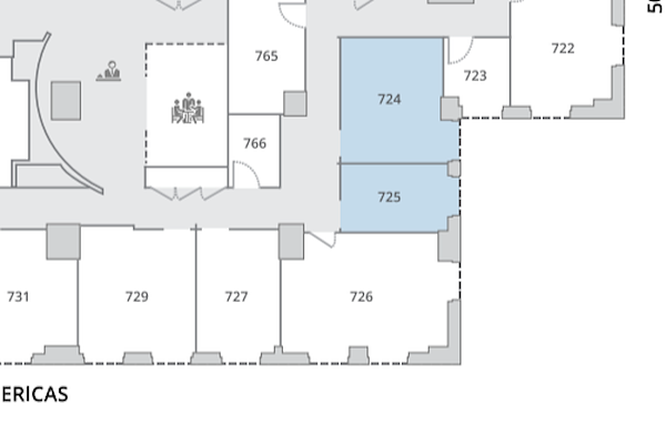 NYC Office Suites - 1270 Avenue of the Americas - 6 Person Window Office & 2 Person Window