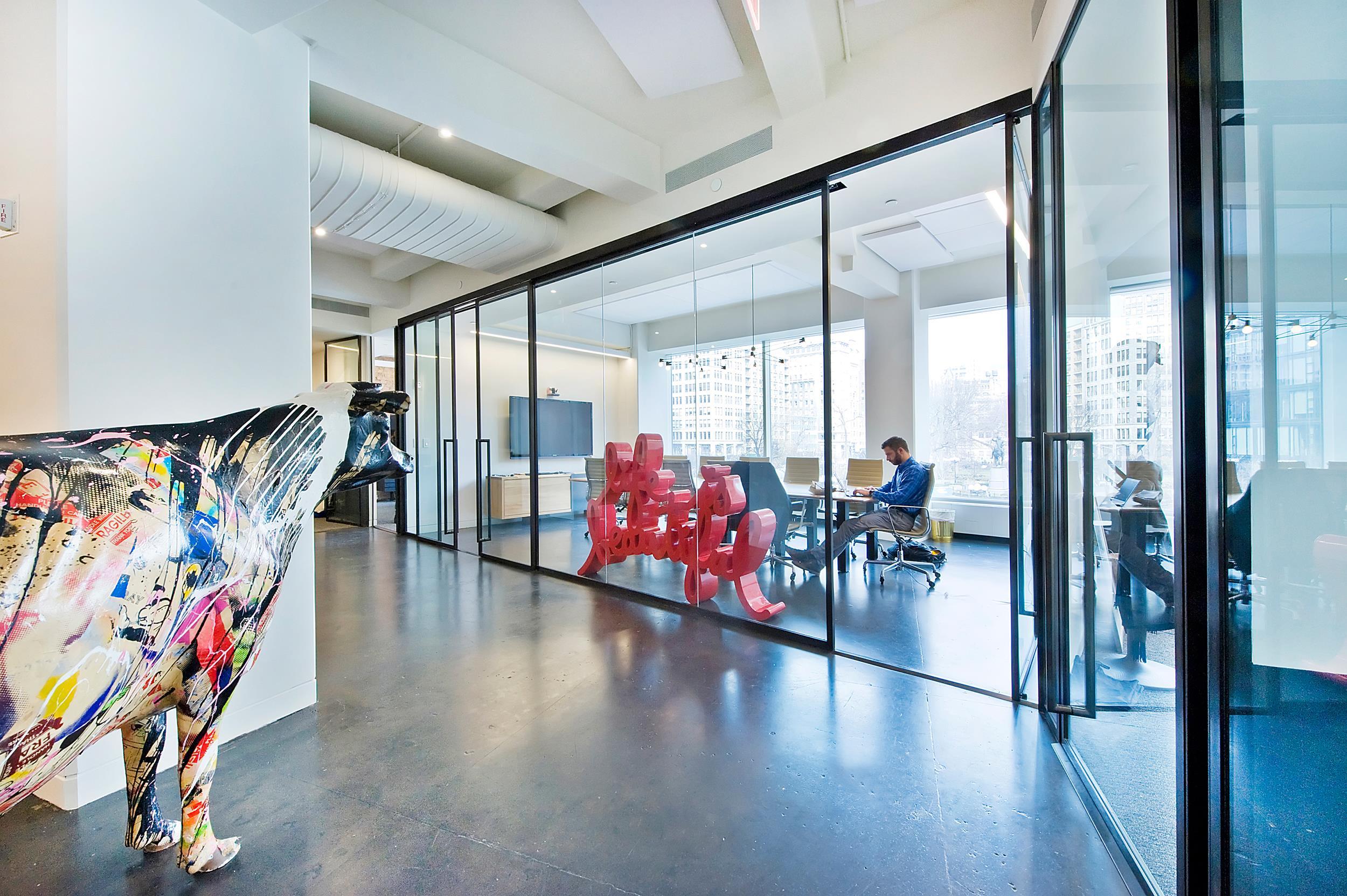 New City Ventures - union sq modern office