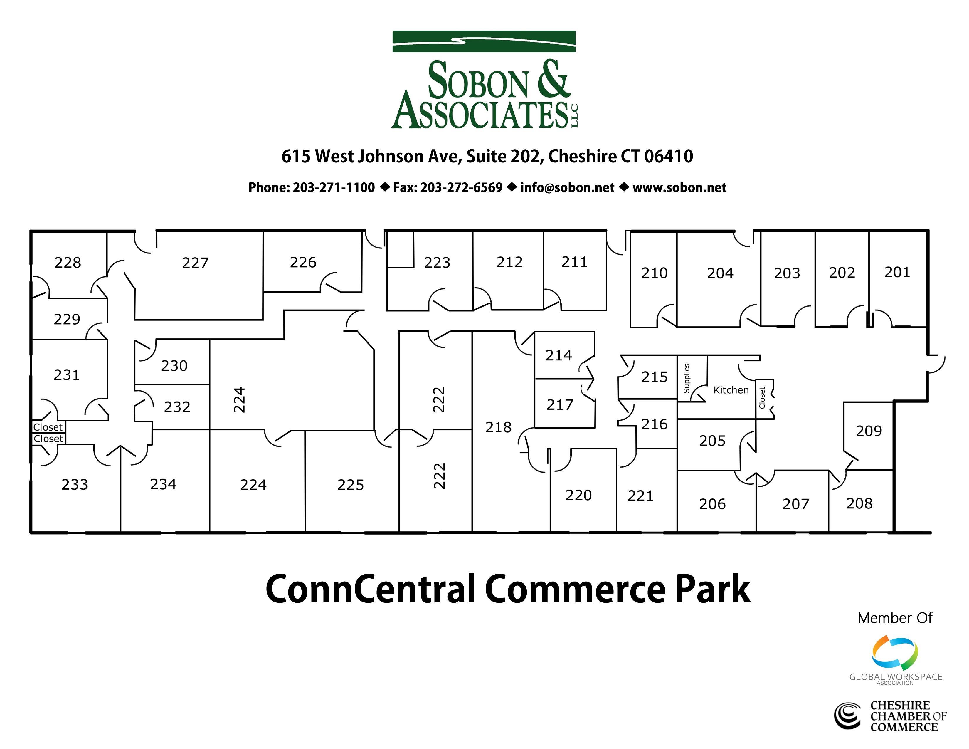 Sobon & Associates Business Center - Office 206