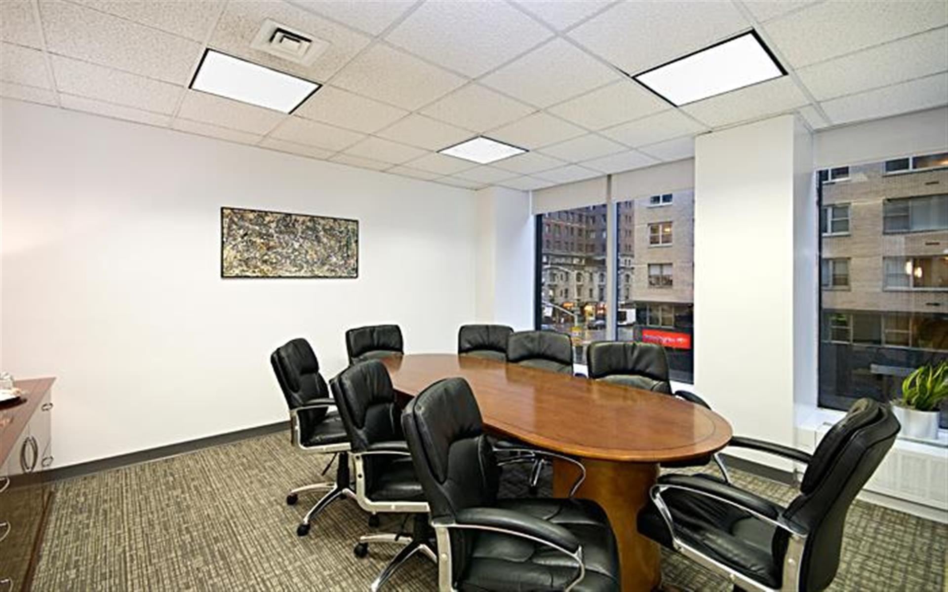 NYC Office Suites 1350 - Class A Midtown Windowed / St. Regis