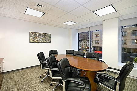 NYC Office Suites - 1350 6th Ave - Class A Midtown Windowed / St. Regis